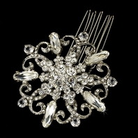 Gorgeous Bridal Brooch Hair Pin - SALE