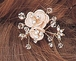 Gorgeous Crystal Floral Bridal Hair Pins (set of 4)