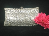 Graceann - Royal Crystal evening clutch purse - Special price!! TWO LEFT