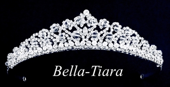 QueenMaria-ITALIAN Collection Swarovski crystal communion tiara - sold out