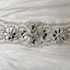 High end Stunning Crystal Beaded Wedding Belt - SPECIAL