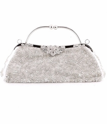 HOT! Antique silver beaded clutch purse - Few back in stock!!!