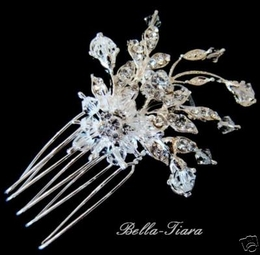 Ilana-Crystal Burst Bridal Comb (set of 2)
