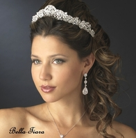 Italia - Royal Collection Swarovski crystal tiara - SALE (20% off sale price - tiara20)