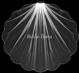 Italian collection - Crystal communion veil