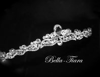 Italian Collection -Gina Beautiful Swarovski crystal communion tiara