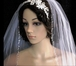 Dazzle Collection - Dazzling crystal edge cathedral wedding veil