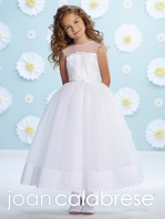 Joan Calabrese- 116361 First Communion Dress - FREE VEIL