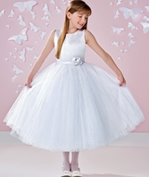 Joan Calabrese Communion Dress 117342 (FREE VEIL)