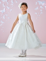 Joan Calabrese communion dress 117358 - FREE VEIL
