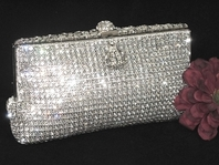 Julia- NEW!! Wholesale Stunning Swarovski Crystal Evening handbag - SOLD OUT