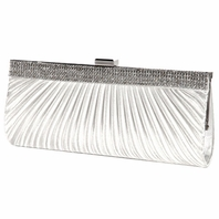 Kassandra - NEW!! Beautiful off white clutch satin bridal purse - SALE!!!