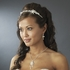Krista - Beautiful Ivory freshwater pearl crystal vine headband