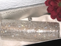 Lady - STUNNING Swarovski Crystal Clutch Purse - SPECIAL!! ONE LEFT