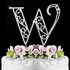 Large Romance Crystal Wedding Cake Topper