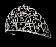 Light Amethyst princess Sweet 15 Quinceañera  Tiara Crown - SALE!!