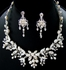 Loredana - Freshwater Pearl Vine Wedding Necklace set - SPECIAL ONE LEFT