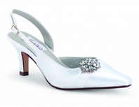 Lori - Elegant bridal shoes - available in wide witdh