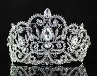 LuisaMaria - Glamorous crystal wedding crown tiara - SPECIAL