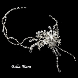 ROYAL Collection - Sara - Stunning wedding crystal headband - SALE
