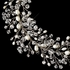 Royal Collection - Lucia Swarovski Vine Headband with Freshwater Pearl - CLEARANCE - sold