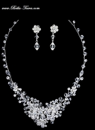Macy - New dazzling swarovski crystal wedding necklace - SPECIAL!!!