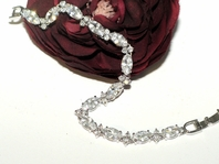 Madonna - Beautiful Cubic Zirconia bridal bracelet - SPECIAL