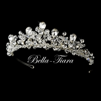 Maia - Royal Collection crystal bridal crown tiara - SALE!!