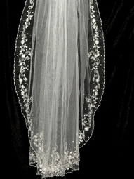 MariaAntoniette - Stunning Royal Collection crystal veil - SALE