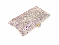 Marian - Dazzling champagne swarovski crystal evening clutch purse - SALE