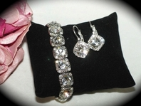 Maritza - Beautiful Swarovski crystal bridesmaids or bridal jewelry set - SPECIAL