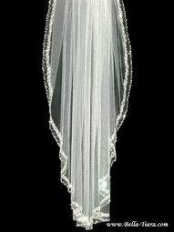 Royal collection- EXQUISITE Swarovski crystal wedding veil - SALE