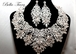 Merle - STUNNING Statement Swarovski crystal necklace set - SPECIAL - OUT OF STOCK