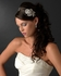 Michelina - Italian Collection -  Vintage rose crystal bridal headband - SALE!!