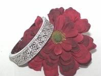 Milana-Elegant Vintage Design Bangle Bridal Bracelet -- SALE!! Back in Stock
