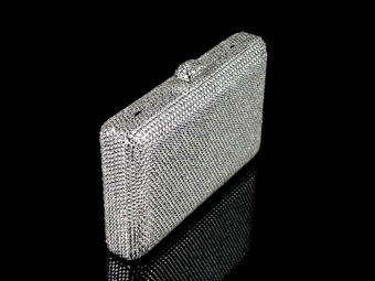 Myrtles - Couture Swarovski crystal evening purse - MARCH SPECIAL!!!