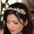 Nella - Luxurious Collection - Pearl and crystal wedding  headpiece - SPECIAL