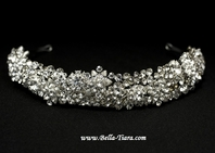 NEW!!  Royal Collection Swarovski crystal wedding headpiece