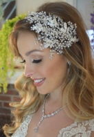NEW!! Beautiful crystal vine wedding headband