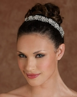 New!! Beautiful sparkling vine bridal headband - SALE!!