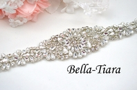 NEW!! Dazzling crystal wedding sash - SALE