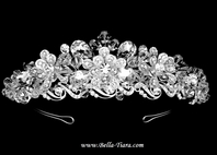 New!! Dramatic Beauty Swarovski crystal tiara - SALE