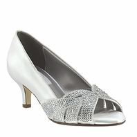 NEW!! Elegant Dyeable Evening Shoes - Tracy