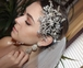 New!! Gorgeous Crystal hair vine with freshwater pearl wedding headpiece - SPECIAL one left