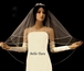 Hollie - Romantic Collection - Beautiful 2 tier crystal beaded Wedding Veil - SPECIAL