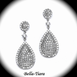 NEW! Luxurious Pave CZ Earrings