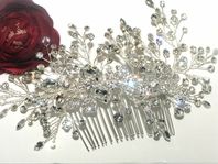 NEW!! Royal collection Swarovski crystal wedding hair comb - SALE Great price