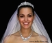 NEW!!! Spectacular Swarovski crystal tiara, necklace and veil set - SPECIAL