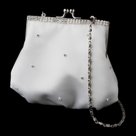 Jennierose - Beautiful elegant ivory wedding purse - SPECIAL