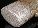 Nichelle - Elegant gold and silver swarovski evening clutch purse - SPECIAL!!
